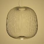 Подвесной светильник Foscarini Spokes 2 nero, фото 1