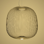 Подвесной светильник Foscarini Spokes 2 oro, фото 1