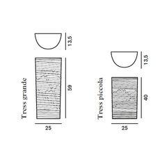 Настенный светильник Foscarini TRESS 182005 20, фото 2