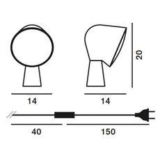 Настольный светильник Foscarini BINIC 200001 42, фото 3