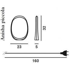 Настольный светильник Foscarini ANISHA 2130012R1 10, фото 5