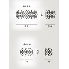 Настенный светильник Foscarini CABOCHE 138005L/25L 52, фото 2