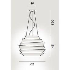 Подвесной светильник Foscarini LE SOLEIL 181007-bronzo, фото 2