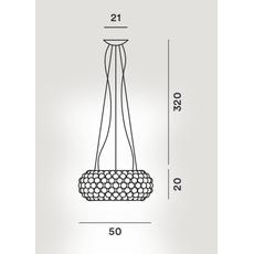 Подвесной светильник Foscarini CABOCHE MyLight 138007TW-16/1016, фото 2
