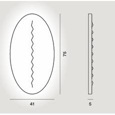 Настенный светильник Foscarini SUPERFICIE 284005-10, фото 2