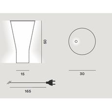 Настольный светильник Foscarini SOFFIO 300001A-10, фото 2