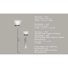 Напольный светильник Foscarini Tobia, фото 5
