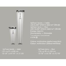 Настольный светильник Foscarini Uptown, фото 6