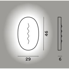 Настенный светильник Foscarini SUPERFICIE MEDIA, фото 2