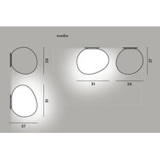 Настенно-потолочный светильник Foscarini GREGG media, фото 2