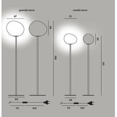 Напольный светильник Foscarini GREGG grande terra, фото 3