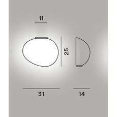 Настенный светильник Foscarini GREGG media semi 1 My Light, фото 2