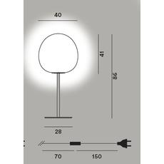 Настольный светильник RITUALS XL tavolo alta, фото 2