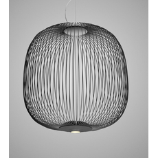 Подвесной светильник Foscarini Spokes 2 nero, Диммер: Нет, фото 1
