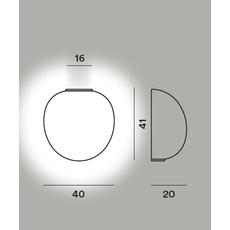 Настенный светильник RITUALS XL semi, фото 2