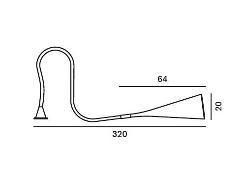 Настольный светильник Foscarini UTO 142000 53-Tavolo, фото 3