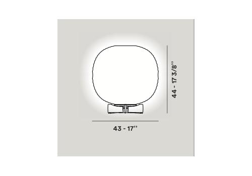 Настольный светильник Foscarini GEM T 274001-10, фото 2