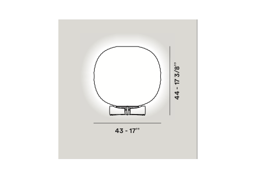 Настольный светильник Foscarini GEM T 274001-10, фото 3