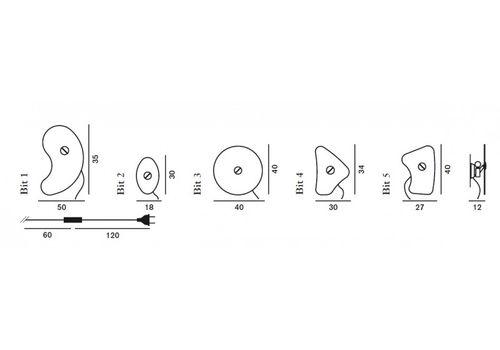 Настенный светильник Foscarini BIT 0430054 10, фото 6