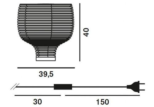 Настольный светильник Foscarini BEHIVE 203001 10, фото 2