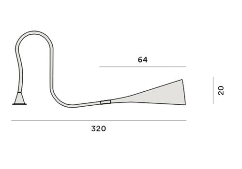 Настольный светильник Foscarini UTO 142000 50-Tavolo, фото 3