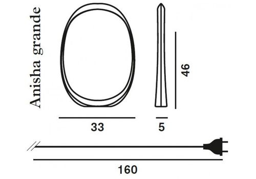 Настольный светильник Foscarini ANISHA 213001R1 10, фото 4