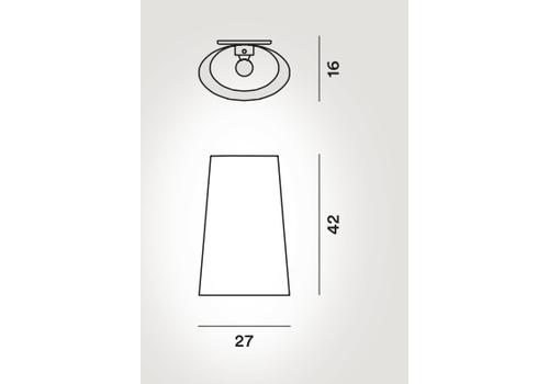 Настенный светильник Foscarini KITE 1110051 20, фото 3