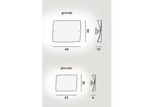Настенный светильник Foscarini FOLIO 0190051 10, фото 2