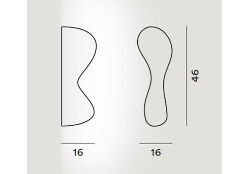 Настенный светильник Foscarini BLOB S 124035 10-Parete, фото 3