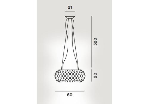 Подвесной светильник Foscarini CABOCHE 138007/L/LD 16, фото 2