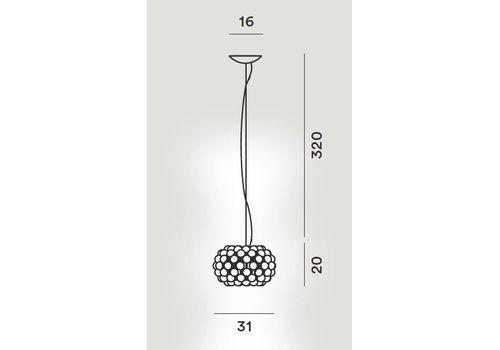 Подвесной светильник Foscarini CABOCHE PICCOLA 138027-transparente, фото 2
