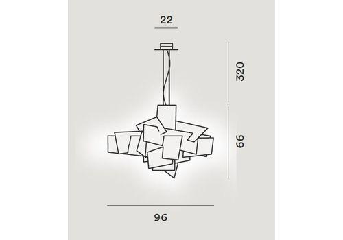 Подвесной светильник Foscarini BIG BANG 151007-rosso, фото 2