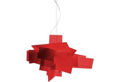 Подвесной светильник Foscarini BIG BANG 151017-rosso, фото 1
