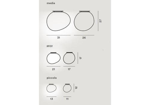 Потолочный светильник Foscarini GREGG 168005/52/53, фото 2