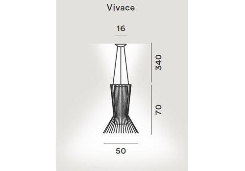 Подвесной светильник Foscarini ALLEGRETTO 1690172 80/10-80, фото 2