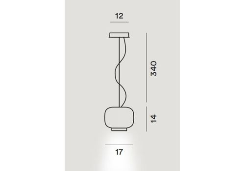 Подвесной светильник Foscarini CHOUCHIN 210271, фото 2