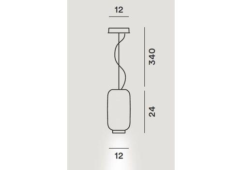 Подвесной светильник Foscarini CHOUCHIN 210272, фото 2