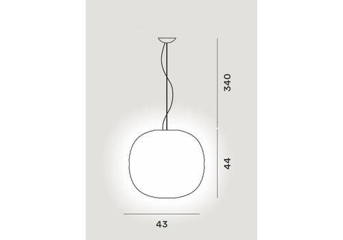 Подвесной светильник Foscarini GEM 274007, фото 2