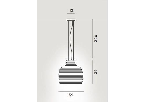 Подвесной светильник Foscarini BEHIVE 203007, фото 3