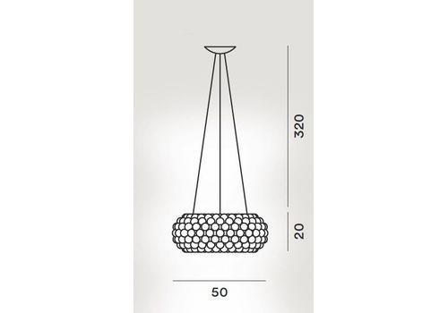 Подвесной светильник Foscarini CABOCHE MyLight 138007TW-52/1052, фото 2