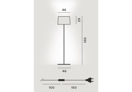 Напольный светильник Foscarini TWIGGY 159004 20, фото 2