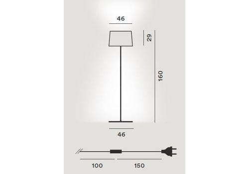 Напольный светильник Foscarini TWIGGY 159004 10, фото 2