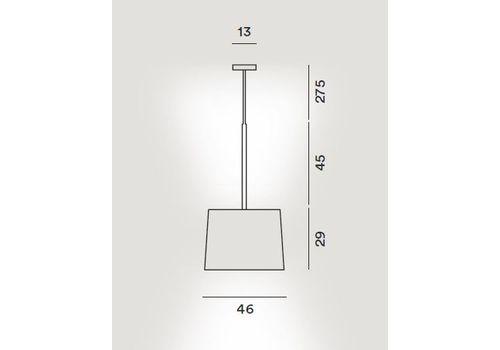 Подвесной светильник Foscarini TWIGGY 275017-bianco, фото 2
