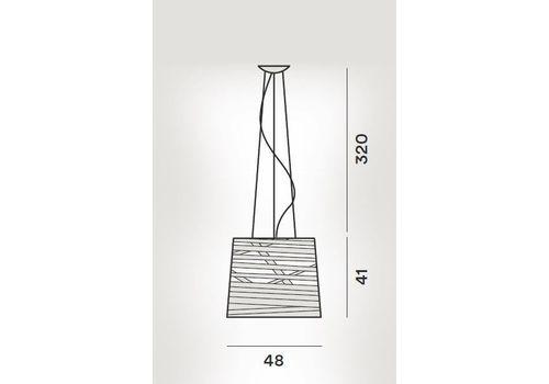 Подвесной светильник Foscarini TRESS 182007-bianco, фото 2