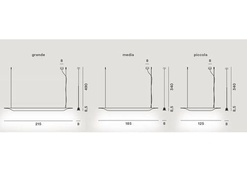 Подвесной светильник Foscarini TROAG 2050071-bianco, фото 2