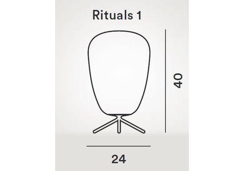 Настольный светильник Foscarini RITUALS 2440011-Rituals 1, фото 2