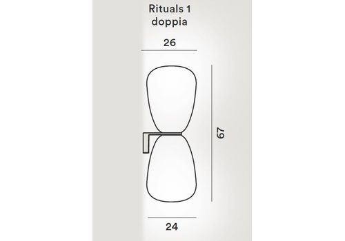 Настенный светильник Foscarini RITUALS 24400512 10, фото 2