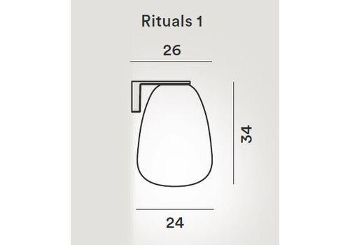 Настенный светильник Foscarini RITUALS 2440051 10, фото 2