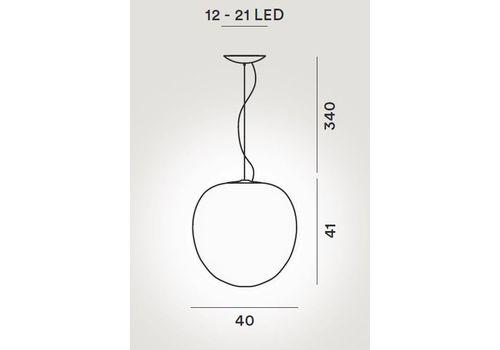 Подвесной светильник Foscarini RITUALS 2440074-Rituals XL, фото 2
