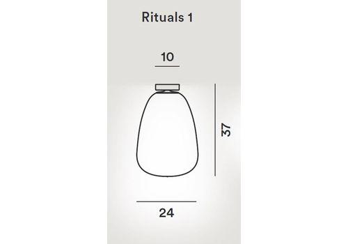 Потолочный светильник Foscarini RITUALS 2440081 10, фото 2
